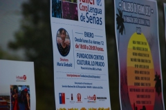 Afiche de promoción al Taller Lengua de Señas