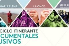 Invitación al Ciclo Itinerante Documentales Inclusivos en edificio Telefónica