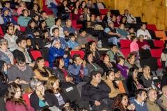 Público General en evento en Cerro Navia