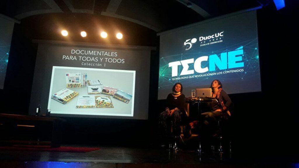 Presentación Tecné en DUOC de Viña del Mar